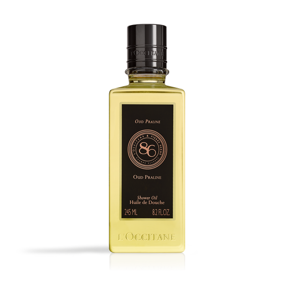 86 Intense Oud Praline Shower Oil