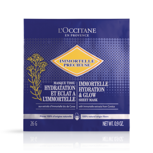 Immortelle Hydrating & Glow Sheet Mask