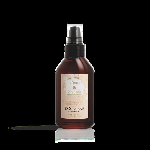 Néroli & Orchidée Body and Hair Oil