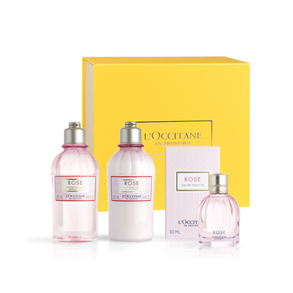 Rose Body Care Gift Set