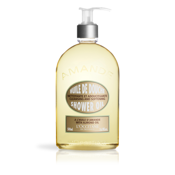 Almond Shower Oil, 500ml