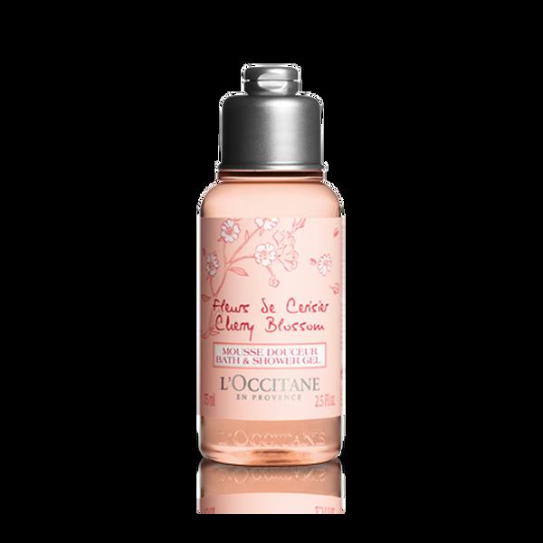 Cherry Blossom Bath & Shower Gel, 75ml