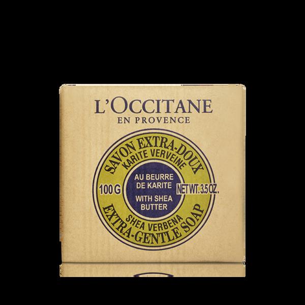 Shea Butter Extra Gentle Soap - Verbena, 100g