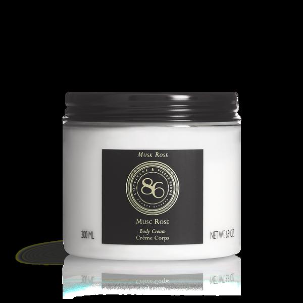 86 Intense Musk Rose Body Cream