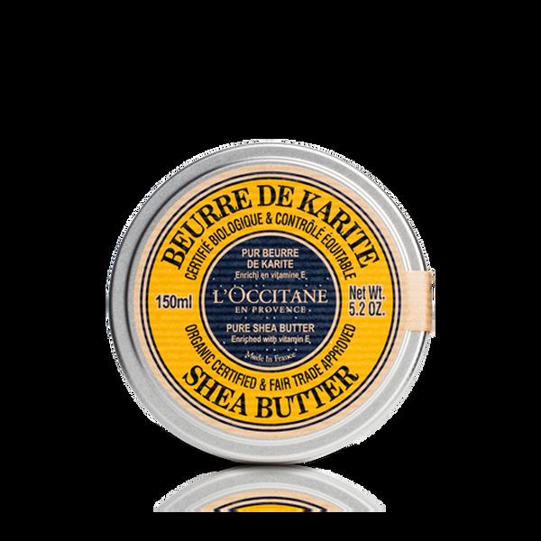 100% Organic Shea Butter, 150ml